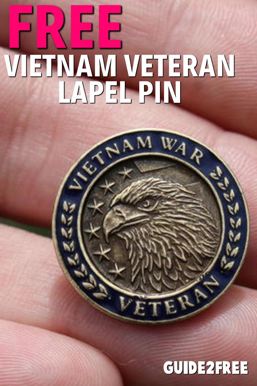 Vietnam Veteran Lapel Pin | Vietnam Veteran Lapel Pin