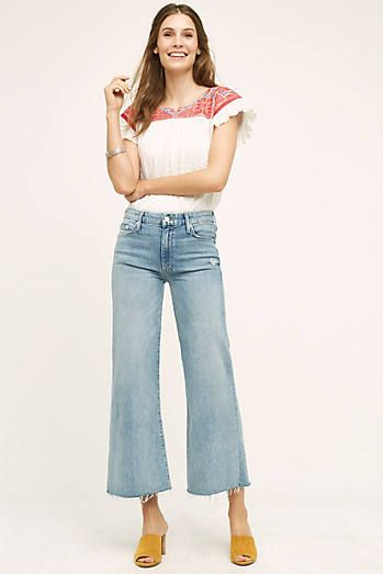 e3bed7999c Mother Roller Ultra High-Rise Wide-Leg Jeans | Anthropologie home ...