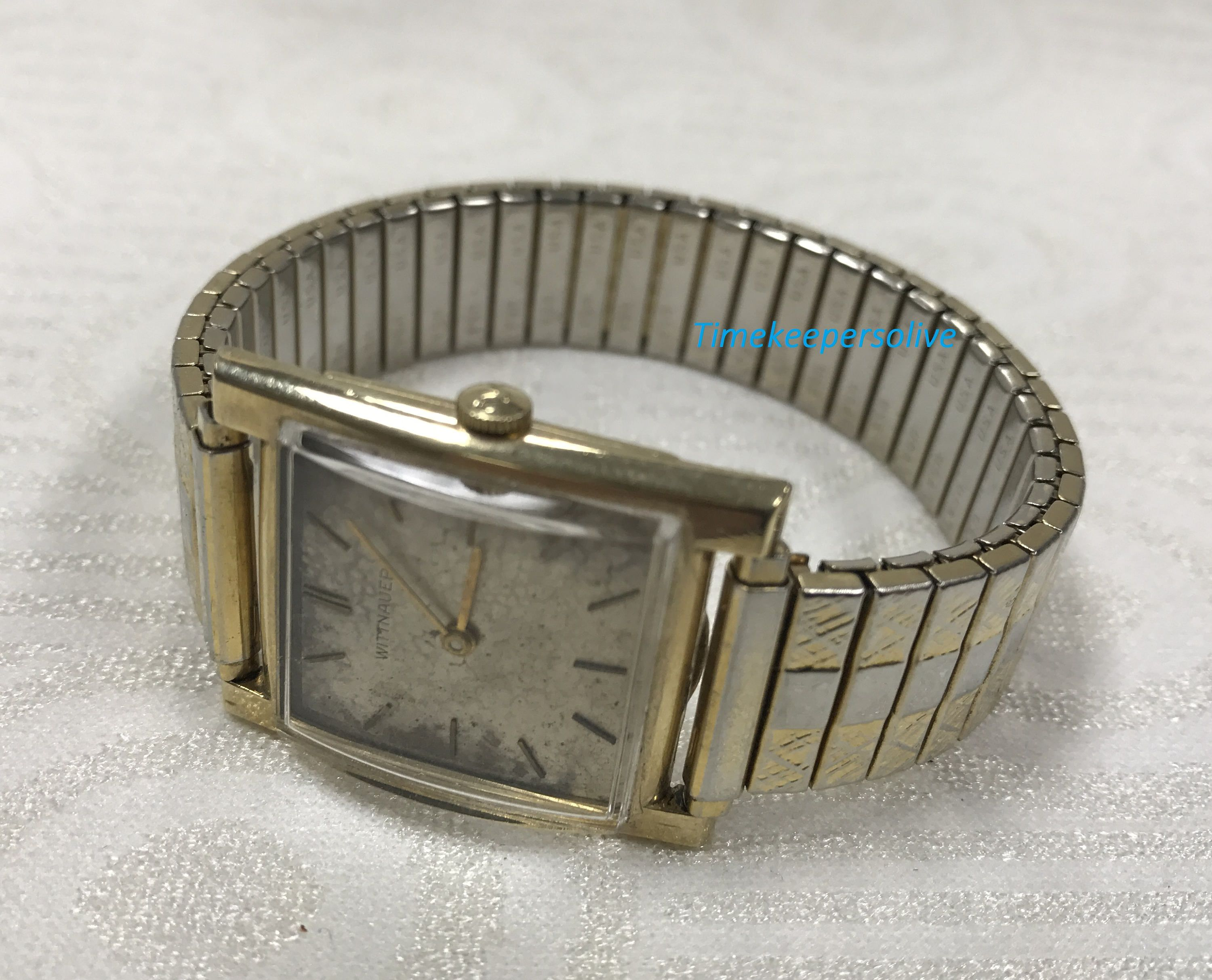 Vintage original wittnauer gold tone 14k gold filled 17 j explore metal bands wrist watches and more vintage original wittnauer gold tone 14k sciox Choice Image