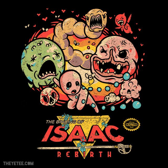 T-shirt The Binding Of Isaac: Rebirth