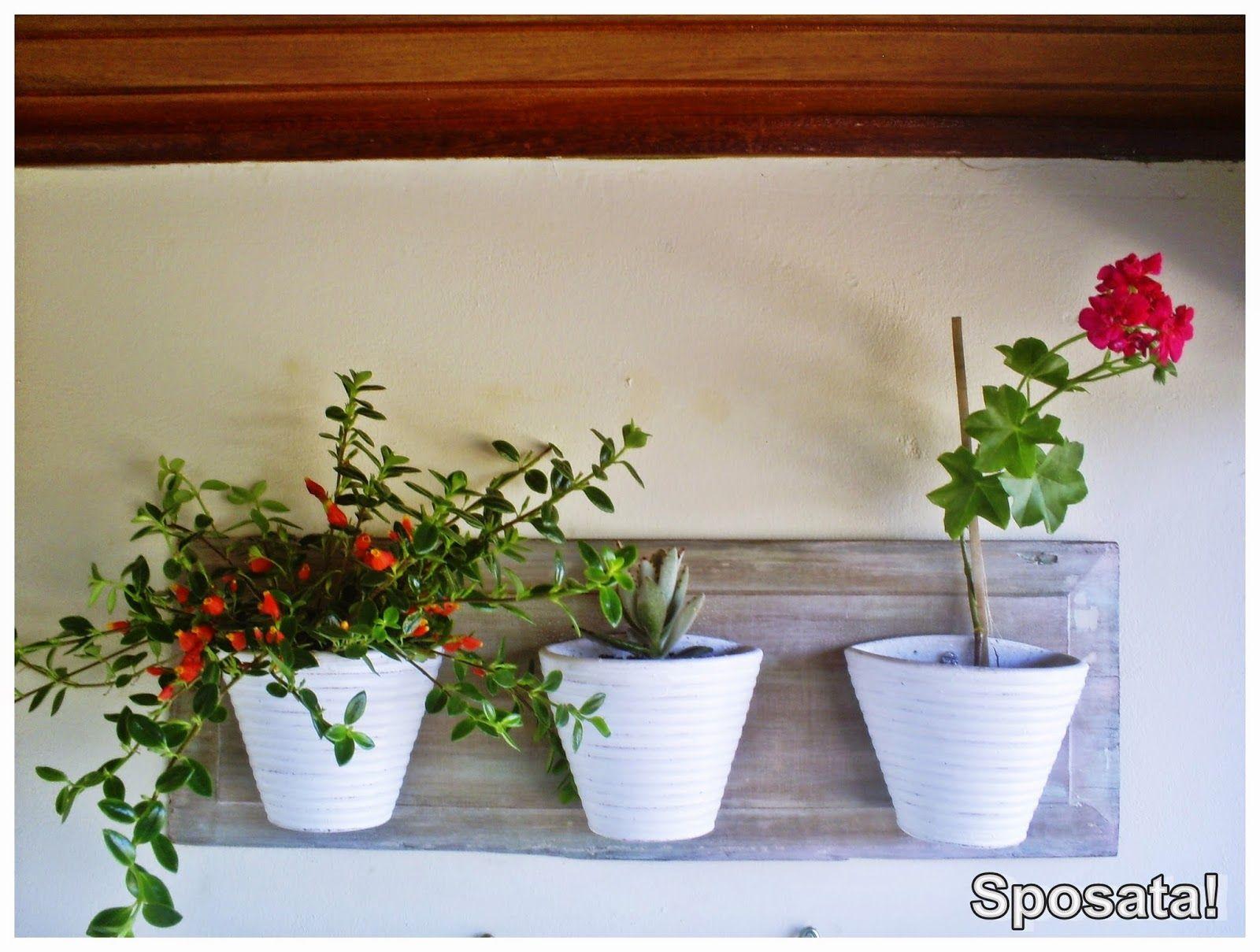 Sposata!: Blogagem Coletiva 1 Projeto por Mês (junho) | Jardim vertical feito com madeira reciclada