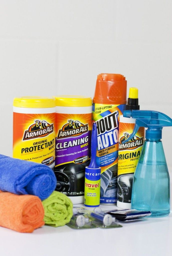 Car Cleaning Supplies >> Quick Organizing Tip Create A Car Cleaning Kit