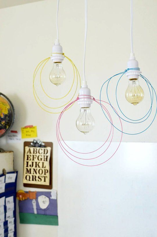 Halo Light Pendant Diy A Beautiful Mess