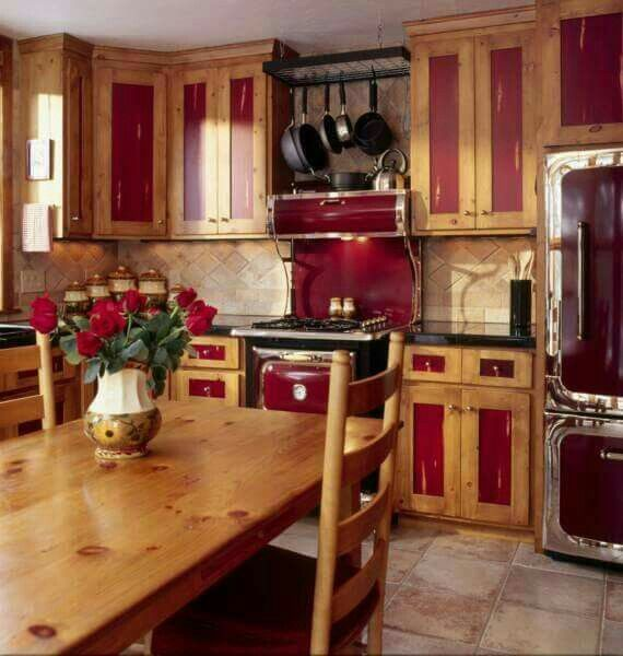 Rustic Pine Kitchen Cabinets: I Love The Partually Painted Cabinets!!! Bebe'!!! This Is