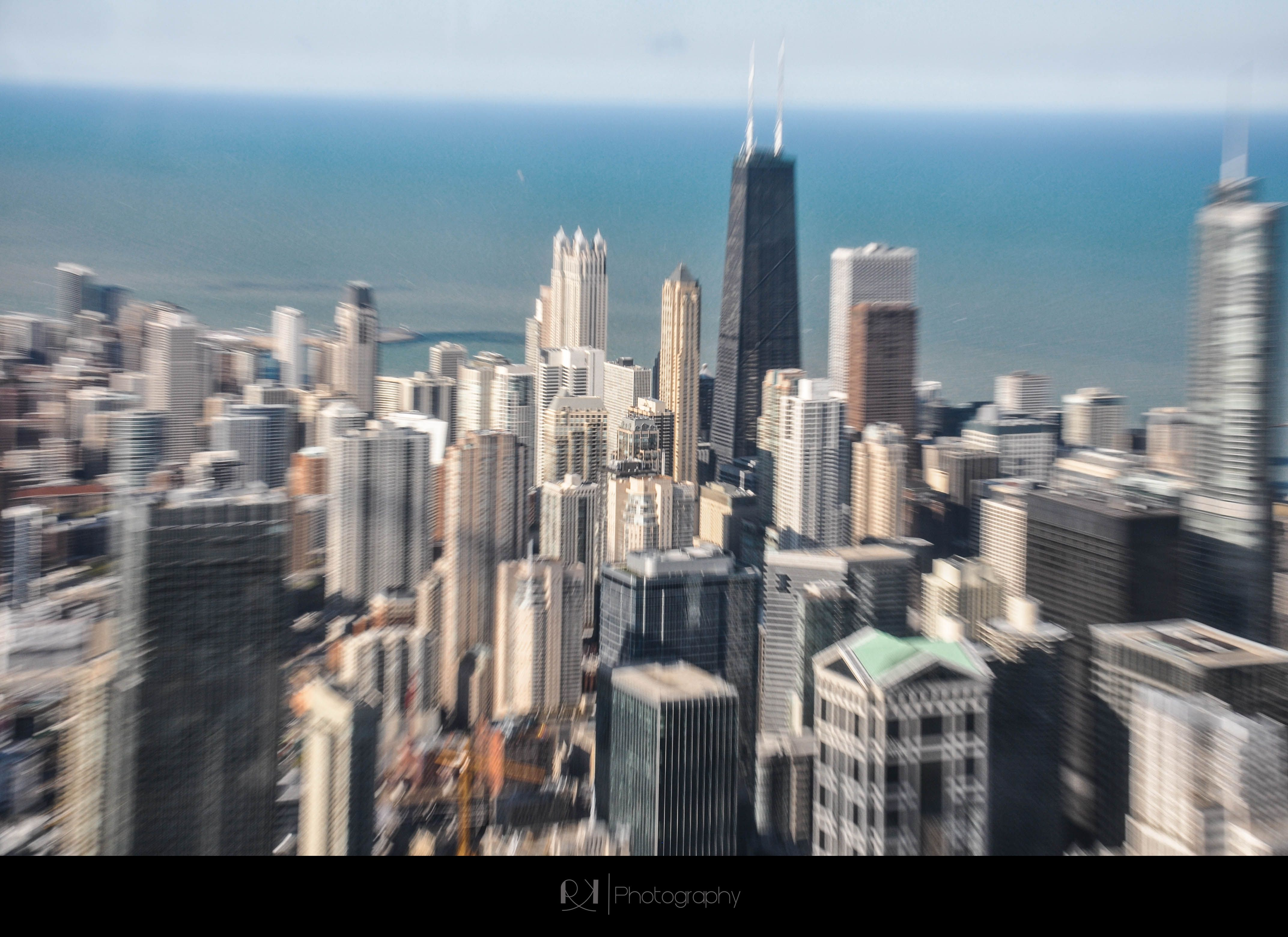 Chicago Sky View From the Sears Tower