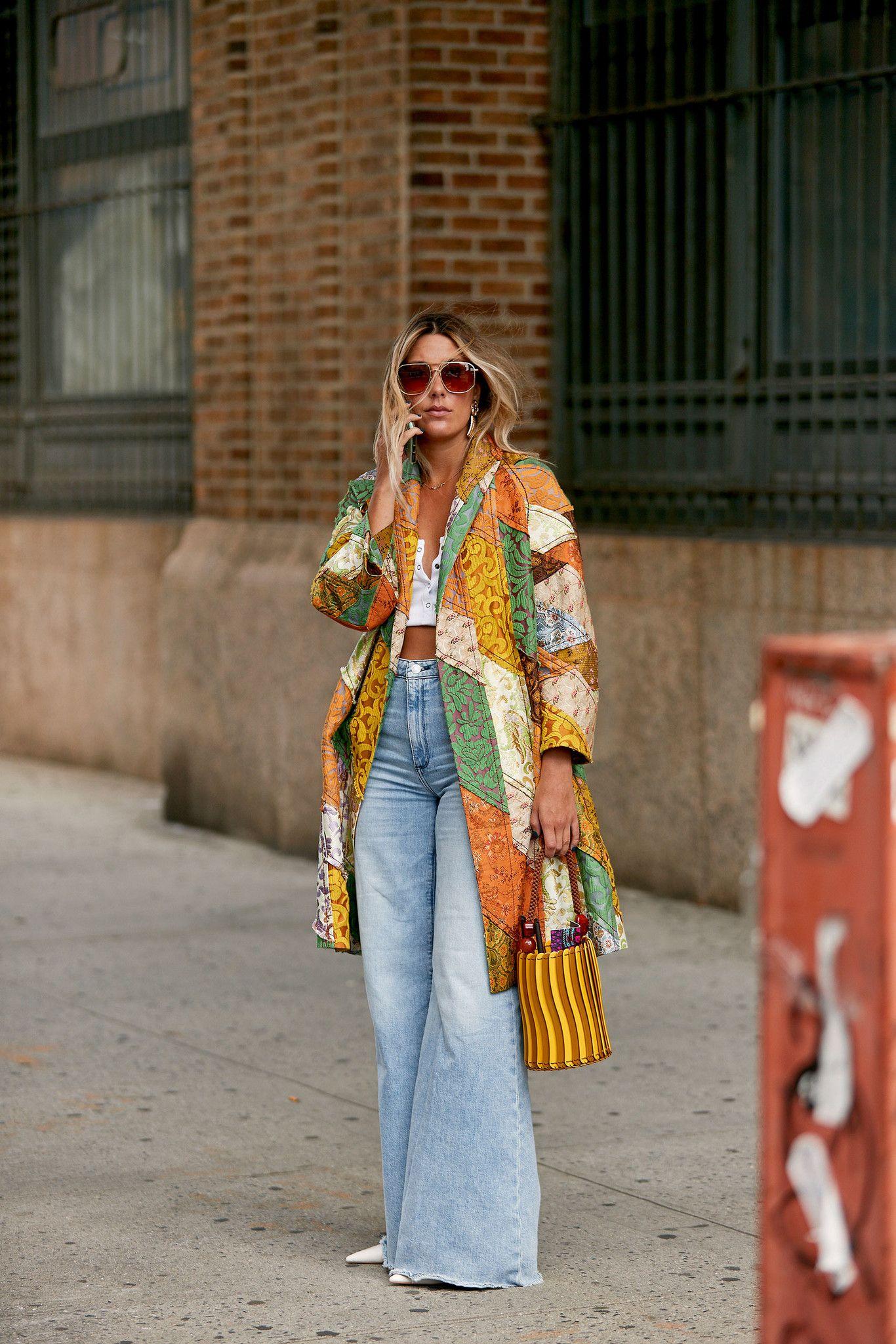 Photo of Cómo llevar los pantalones anchos estilo palazzo, slouchy, culotte, acampanados, paperbag …