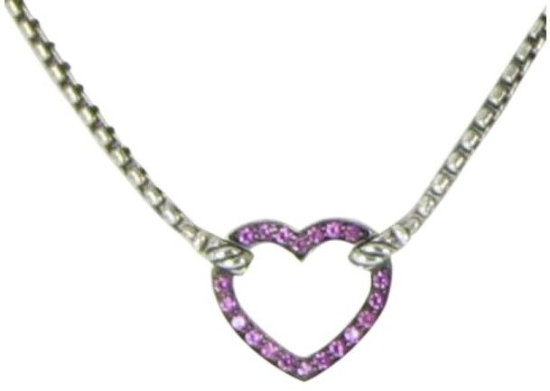 4027cd431e43c David Yurman Petite Pave 925 Sterling Silver With Pink Sapphires ...