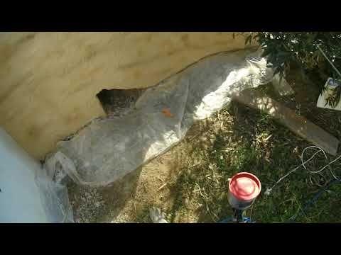Enduit imitation pierre avec le Combi crépi joint - YouTube mes