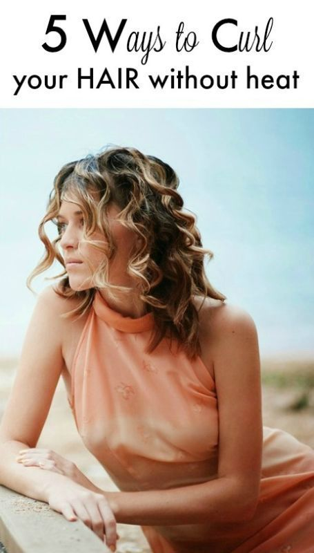WAYS TO CURL YOUR HAIR WITHOUT HEAT - Beautiful, Spiral curls and ...