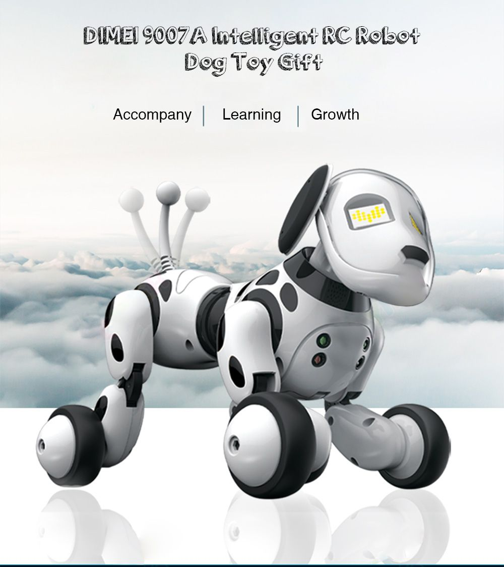 Dimei 9007a Intelligent Rc Robot Dog Toy Smart Dog Kids Toys Cute