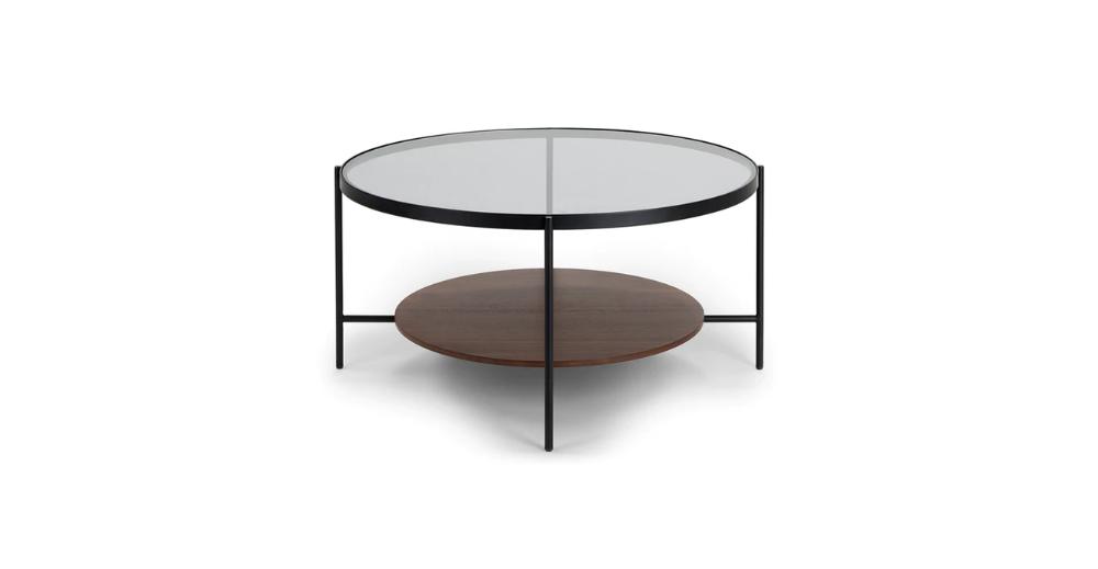 Vitri Walnut Coffee Table In 2020 Mid Century Modern Coffee Table Coffee Table Contemporary Coffee Table