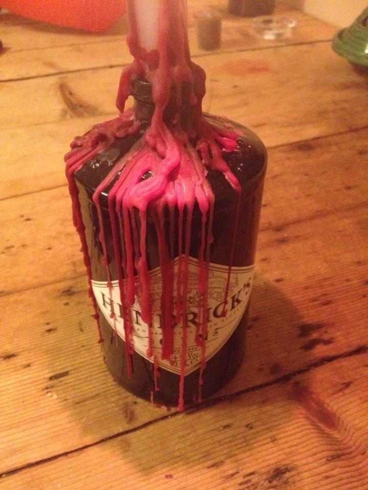 Hendricks gin candle holder