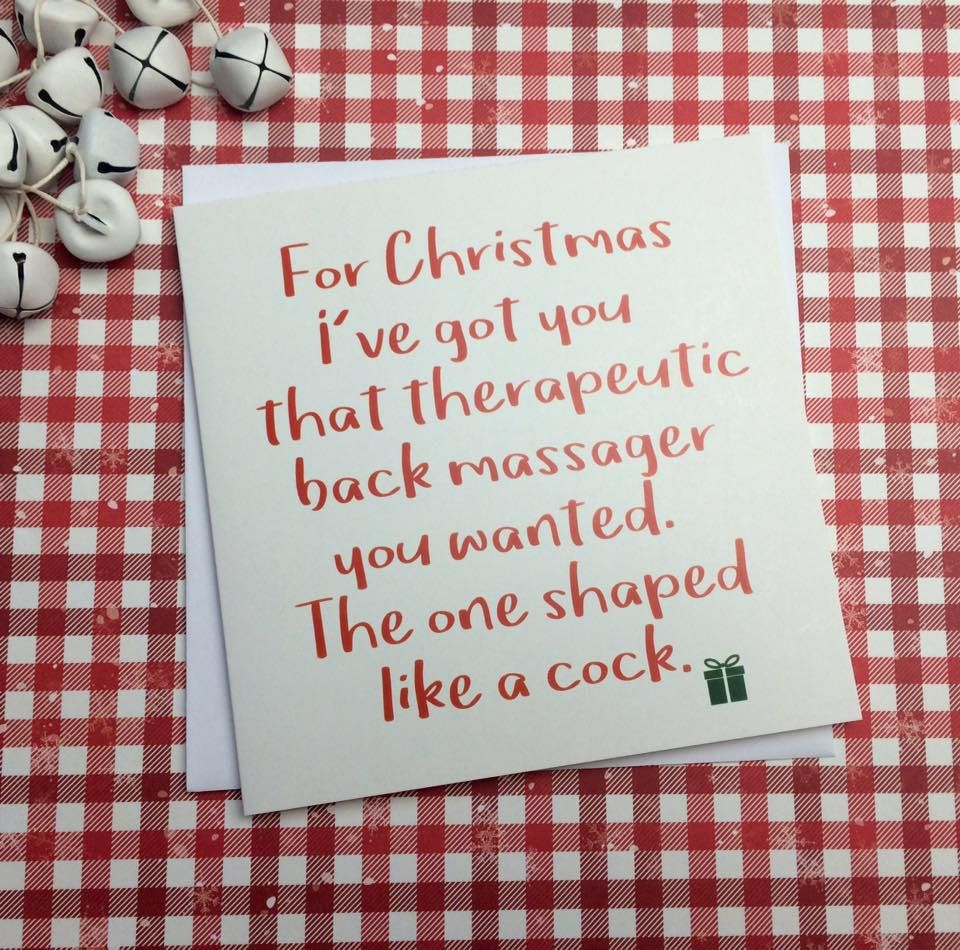 gay card Adult christmas