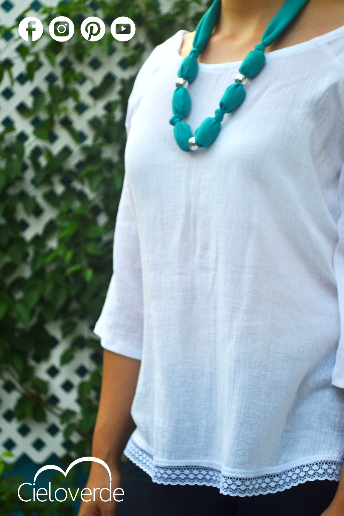 69adbd922 Blusa de manta blanca   Productos Cielo Verde   Jewelry, Turquoise ...