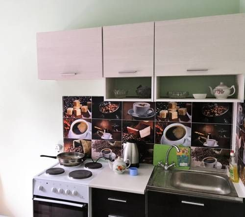 Apartment in a new building Vladimir Apartment in a new building offers accommodation in Vladimir. Nativity Convent is 1.6 km away. Free WiFi is available .  All units have a TV. All units feature a kitchen equipped with an oven and fridge. A stovetop and kettle are also provided.