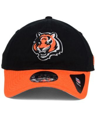 reputable site 914e9 27839 New Era Cincinnati Bengals Relaxed 2Tone 9TWENTY Strapback Cap - Black Orange  Adjustable