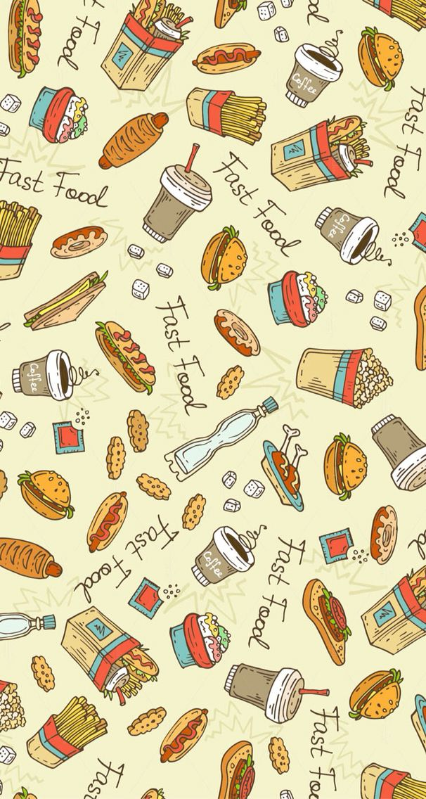 the fast food wallpaper wallpapers hd pinterest