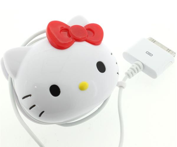Hello Kitty AC Adaptor for iPhone and iPod |Gadgetsin