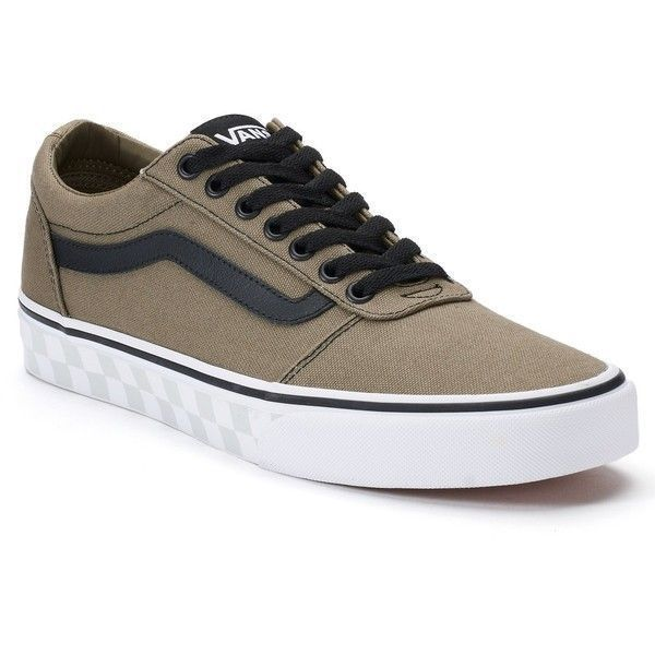 Vans Ward Hi Check Foxing ... Men's Skate Shoes best prices online discount collections cheap good selling TIfn9KDZ