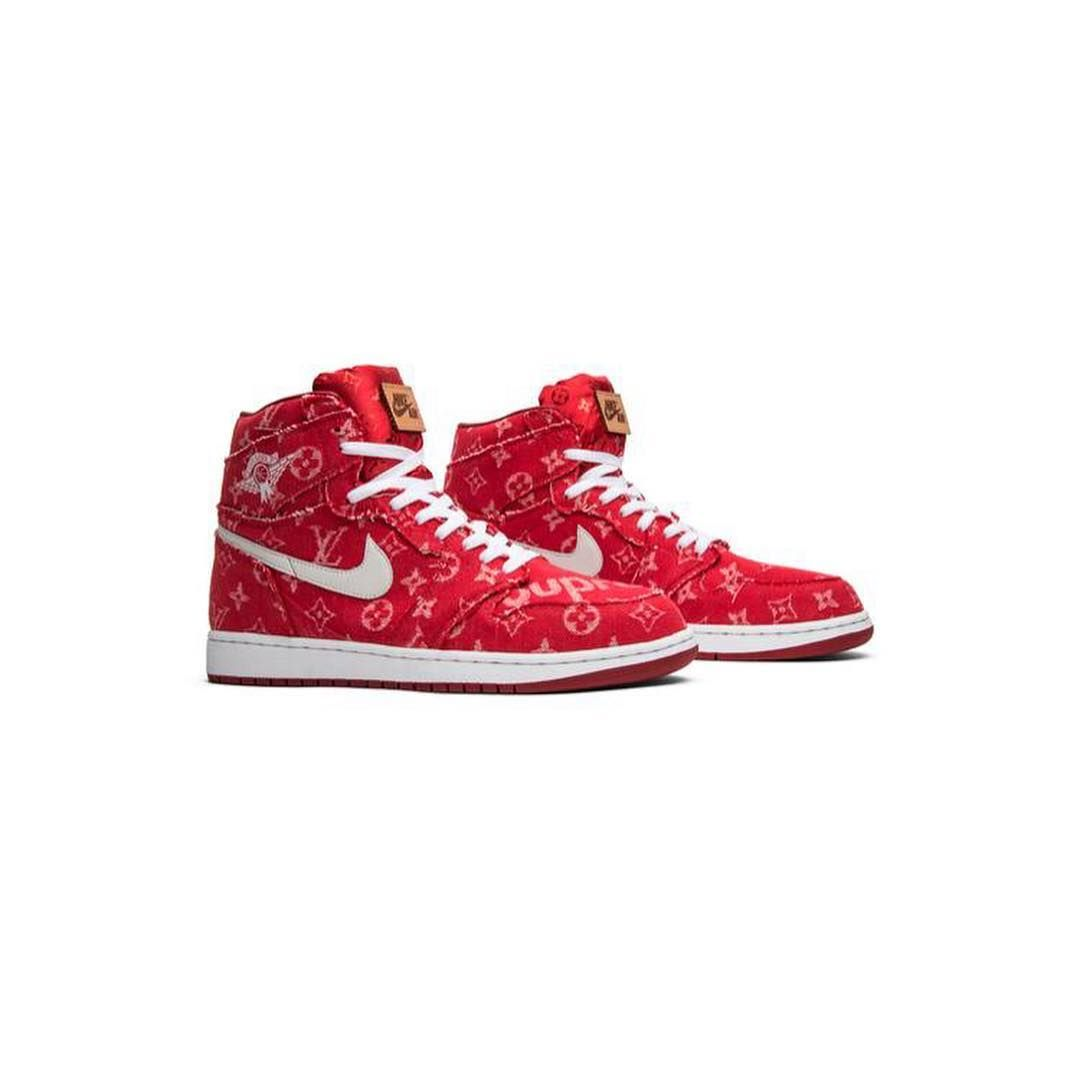 quality design 9edb8 b1f95 Supreme x Louis Vuitton x Red Ribbon Recon x Air Jordan 1 Retro High  Supreme x