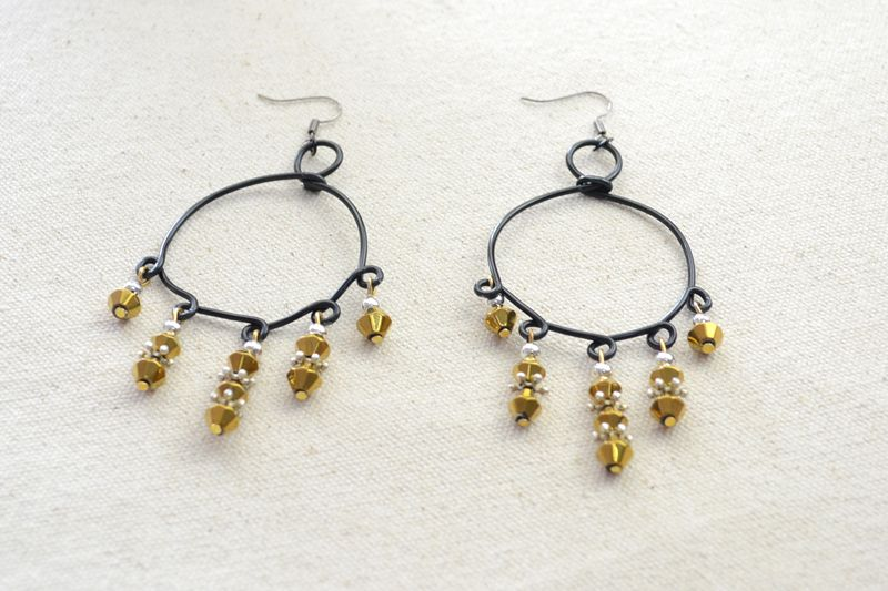 jewelry making ideas | Jewelry Making Ideas - Dangling Bead and Wire ...
