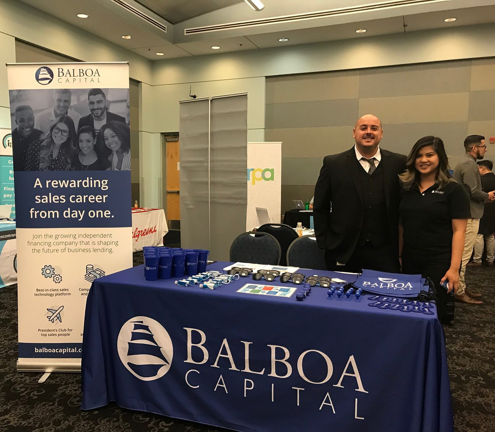 Balboa Capital S Booth At California State University Los Angeles Spring 2018 Career Fair We Met With Students And An Job Fair College Job Job Opportunities