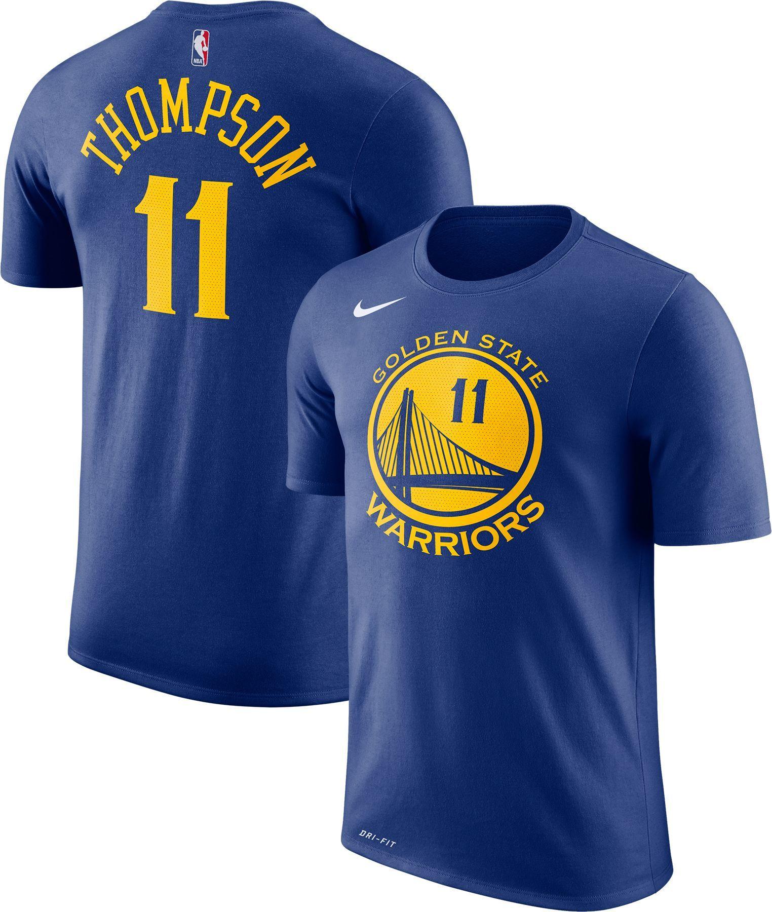 Nike Youth Golden State Warriors Klay Thompson  11 Dri-FIT Royal T-Shirt 3e580c7b9