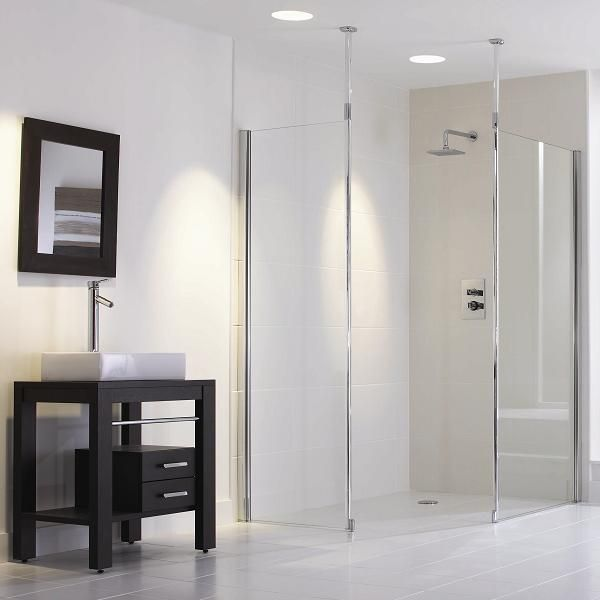 Beau Walk In Shower No Step | Frameless Showers By Bathroom Direct