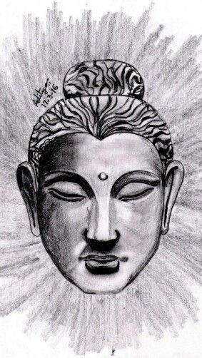 Sketching · drawing reference · buddha