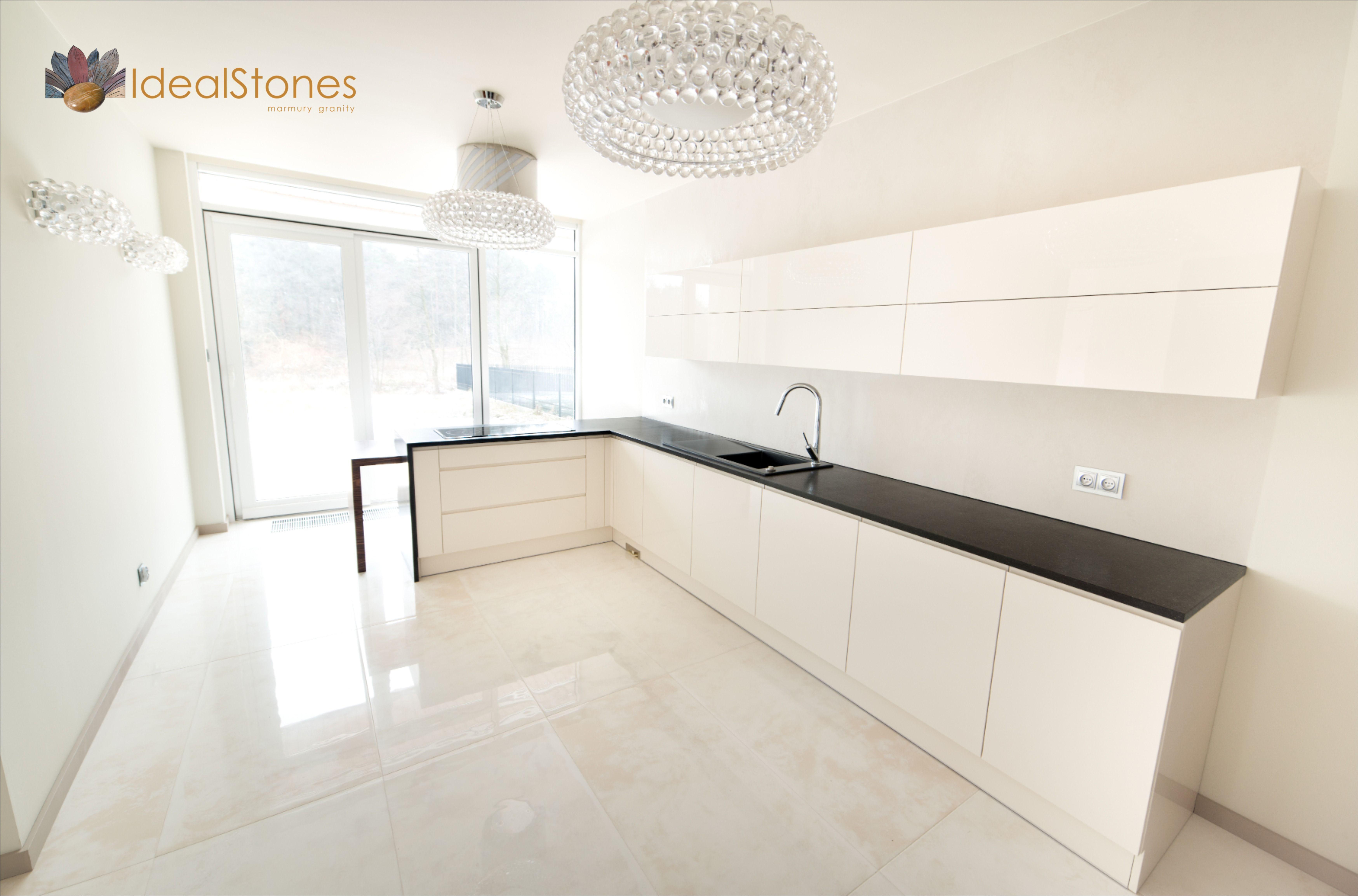 Blat Granitowy Czarny Z Kamienia Naturalnego Do Kuchni I Posadzka Marmurowa Z Bezowego Kamienia Decor Home Decor Home