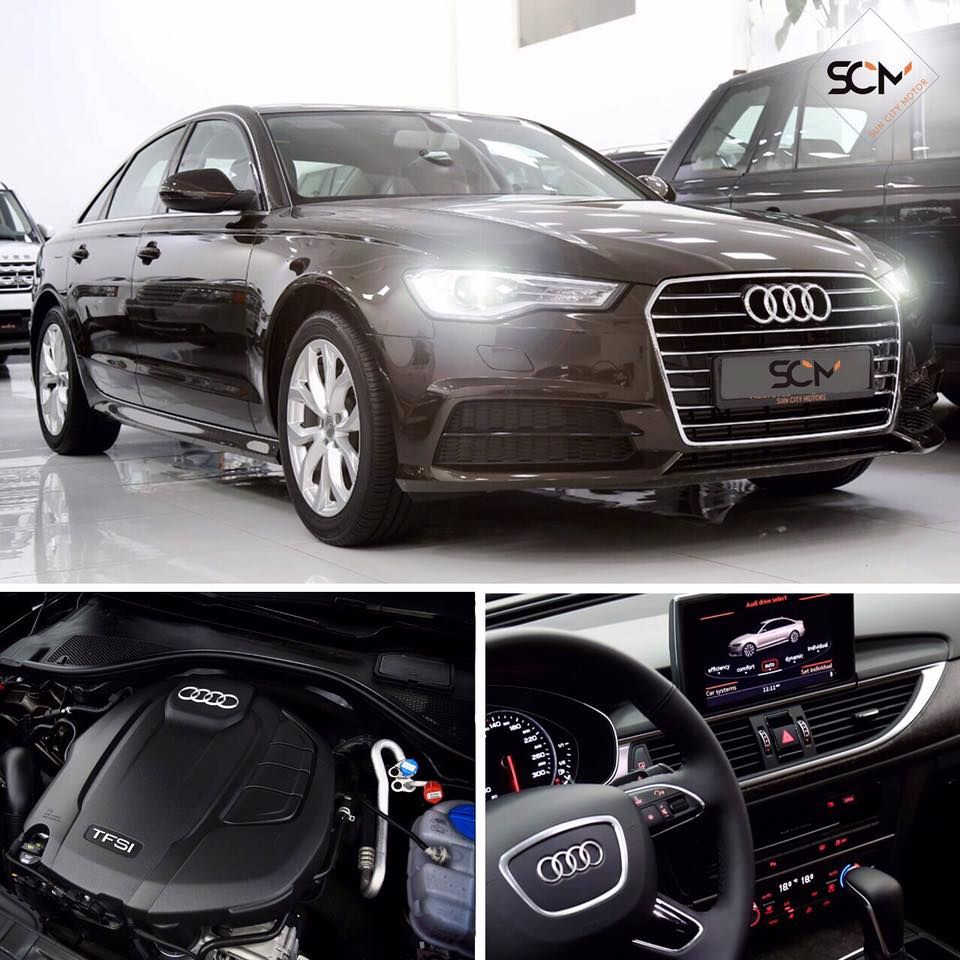 Enjoy luxury and peace of mind. 2017 AUDI A6 35TFSI only