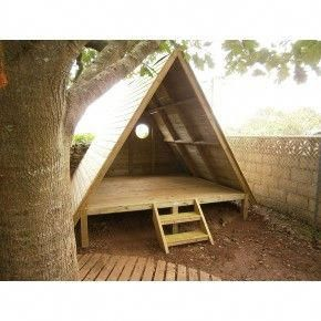 Outstanding thing twostorydoghouse Dog house diy, Tree