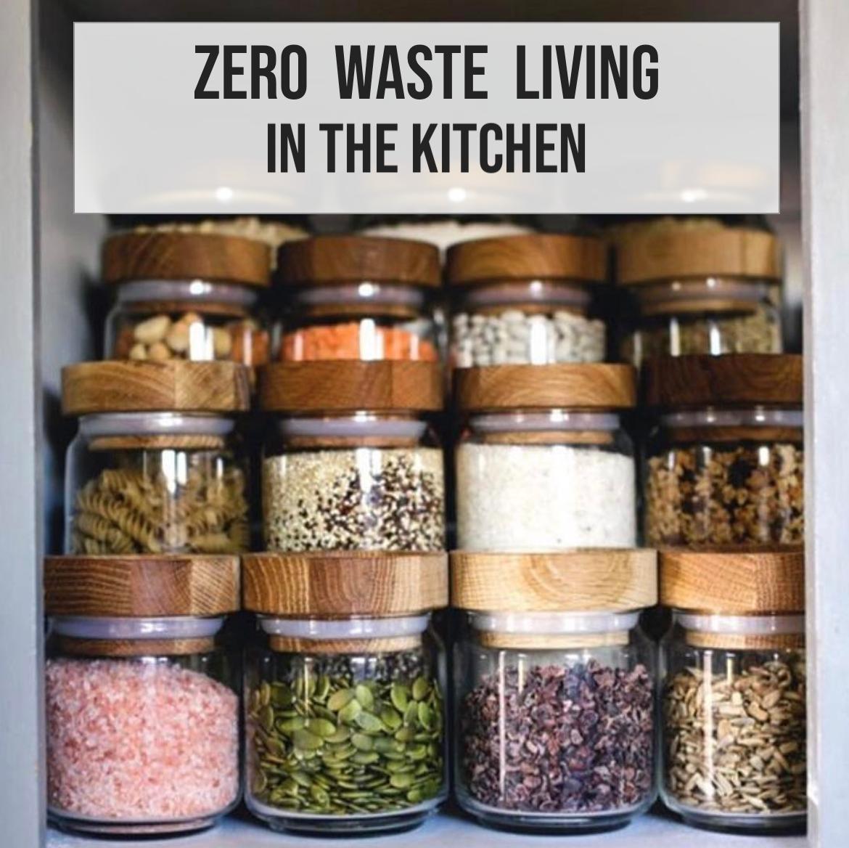 zero waste living kitchen pt 1 spice organization spice jars zero waste living on kitchen organization zero waste id=98476