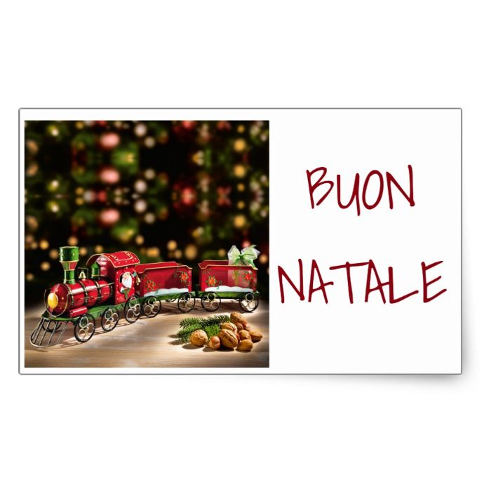 How To Say Merry Christmas In Italian.Sticker To Say Merry Christmas Italian Style Zazzle