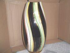 Superbe Vase Signe Bequet Quaregnon Annees 1950 Vaas Huisdecoratie Brocante
