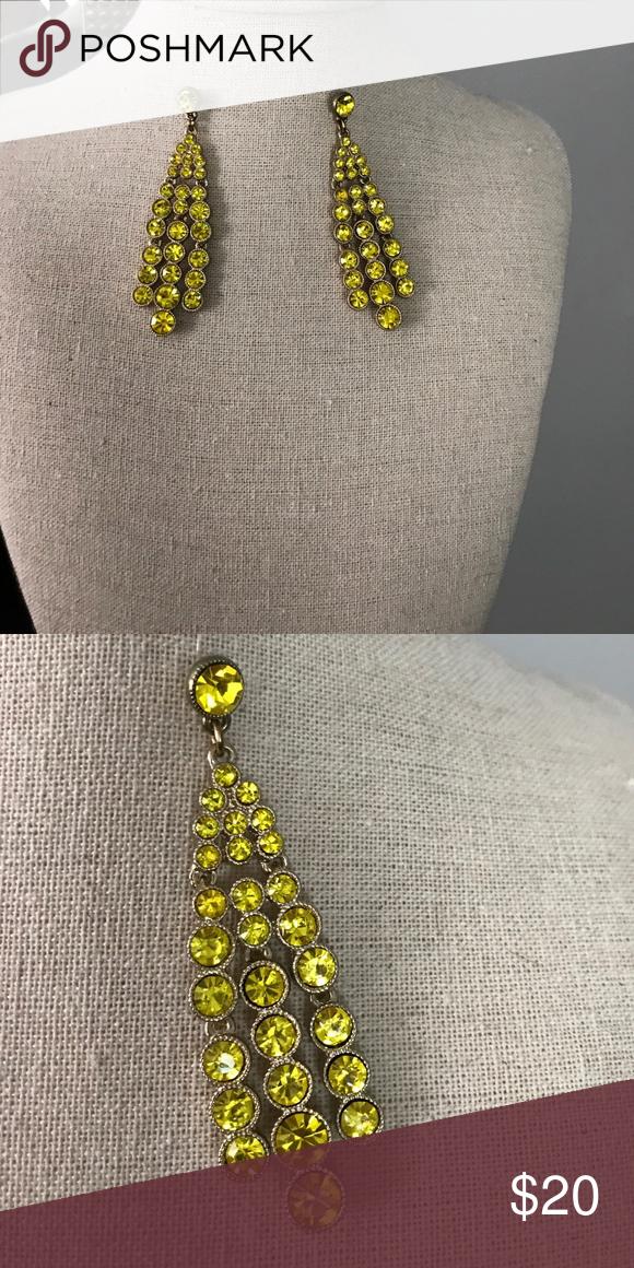 Earrings Yellow and gold earrings Jewelry Earrings