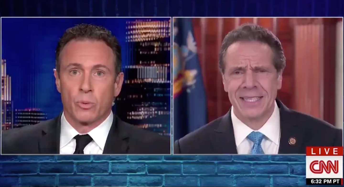 The Comedy Routine America Needs Right Now The Cuomo Brothers Return To Prime Time In 2020 Chris Cuomo Calvin And Hobbes Humor Prime Time