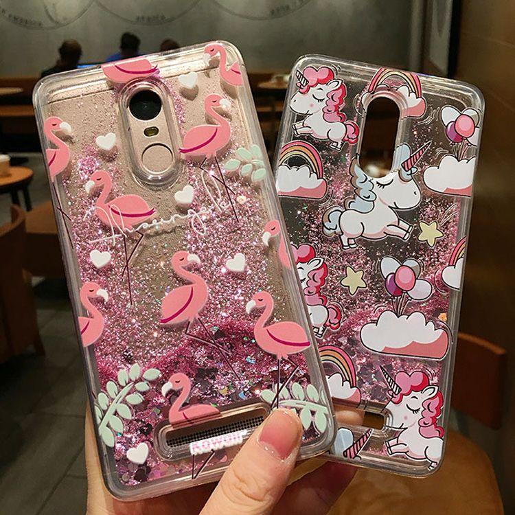 Dynamic Water Liquid Case For Xiaomi Redmi 4X/Note 4/Note
