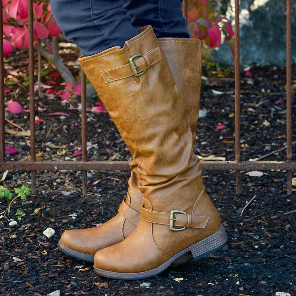 Riding boots, Womens knee high boots