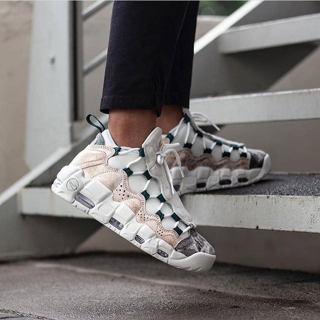 Nike Air More Money Sneakers fashion outfits, Trending