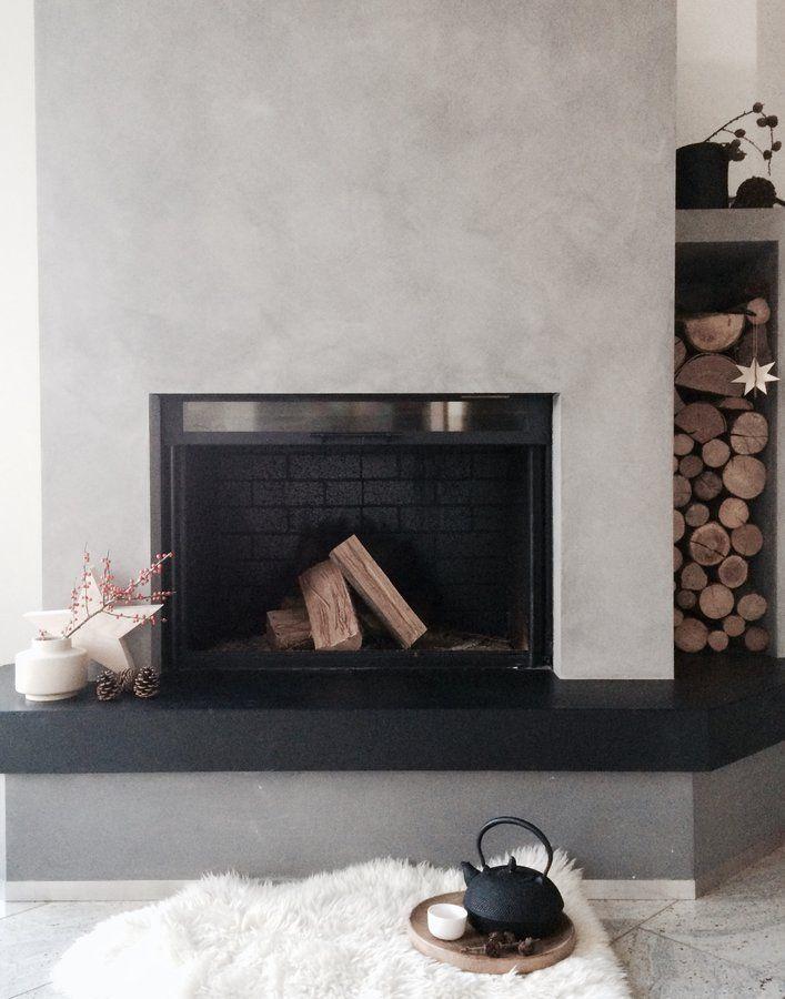 gemütlich*..... | deko, kamine und advent - Deko Ofen Wohnzimmer