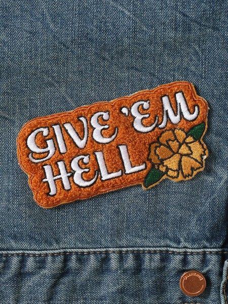 Give 'Em Hell Patch - Gypsy Warrior