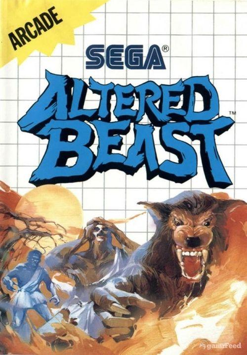 Altered Beast Sega Master System Este Juego Marco Mi Vida Jaja