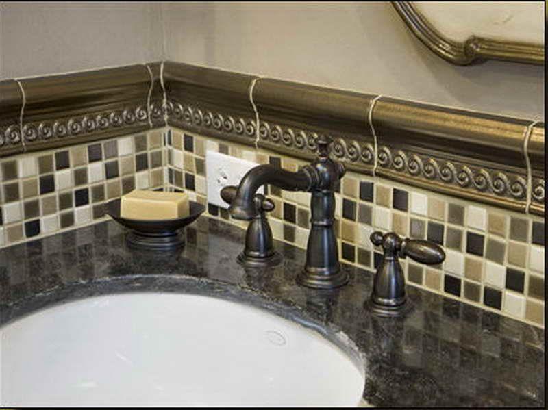 half bath tile decorating ideas | Bathroom Tile Designs ...