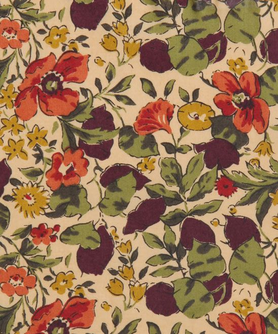 Poppy And Honesty P Tana Lawn, Liberty Art Fabrics