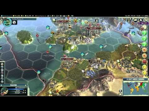 Let's Play Civilization 5 (Huge Earth Map)   Part 49   Let's Play