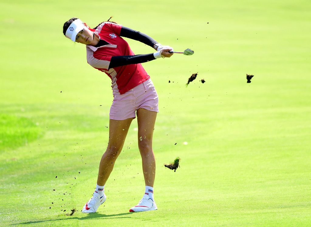 Michelle Wie Photos Photos - The Solheim Cup - Day Two