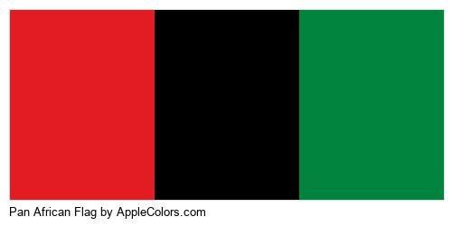 World Flag Flags African #e31c23 #000000 #00843e