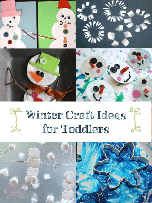 Charming Winter Craft Ideas For Kids Easy Part - 12: Super Fun And Easy Winter Craft Ideas For Toddlers - Love These Simple  Winter Ideas,
