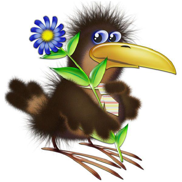Музыкой марта, рисунок картинка смешная птица